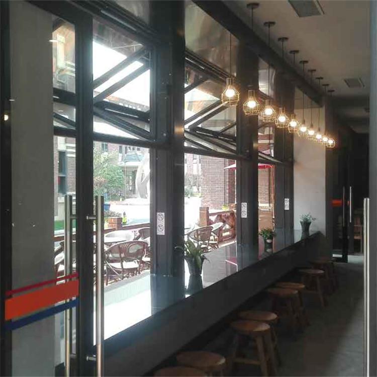 电动折叠门窗的原理及其特点