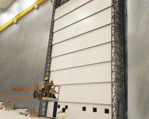 钢制屏蔽提升大门