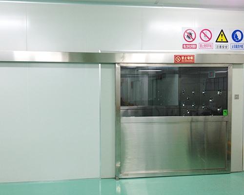 不锈钢平移门(左开)