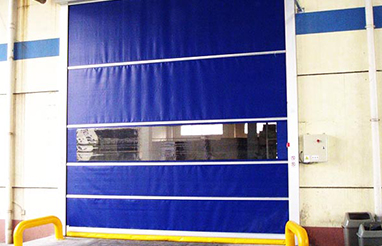 What are the precautions for the operation of the rolling door?
